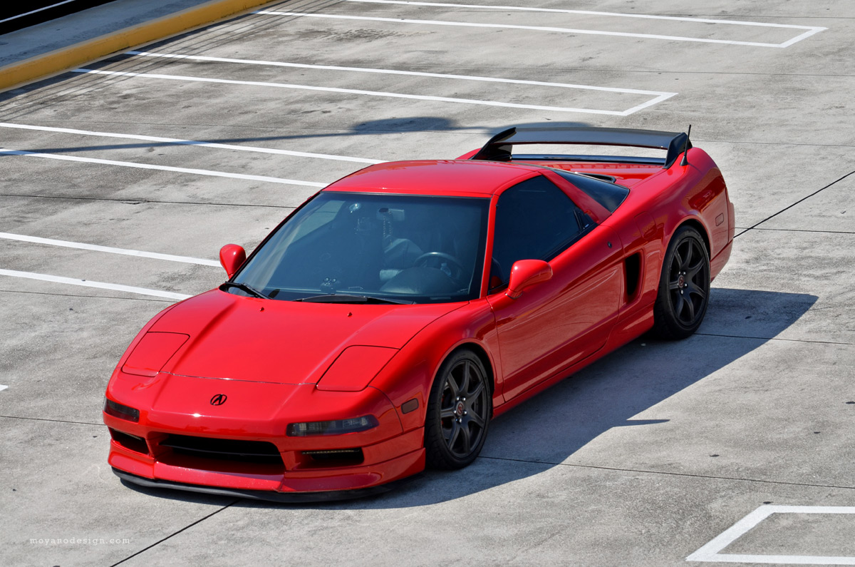 My nsx red 97 now on m5 39 s